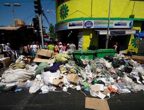 Inminente Alerta Sanitaria: gremios de la basura bloquearon los rellenos sanitarios de 42 comunas de Santiago