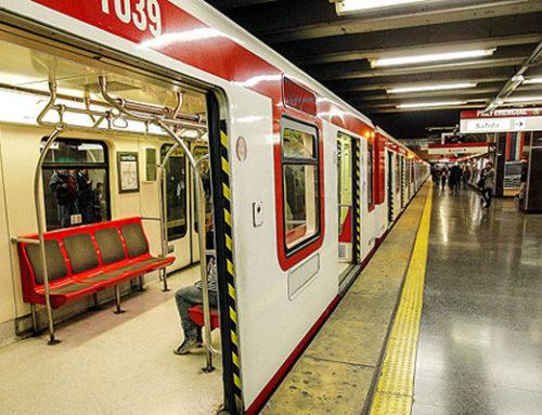 Trabajadores del metro se suman al paro Nacional