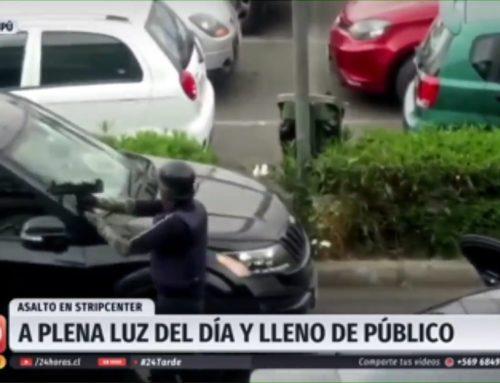 Chile sin ley: Delincuentes ingresan armados a robar sucursal bancaria en Maipú
