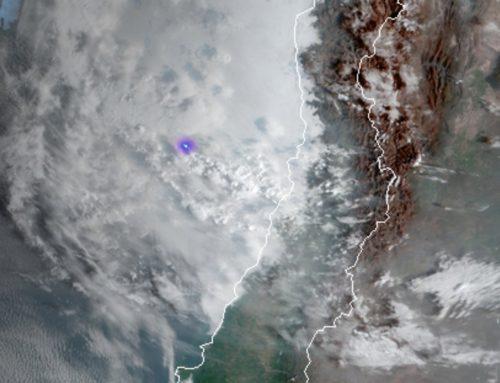 Fuertes lluvias en el norte de Chile , precaución ante bajada de ríos