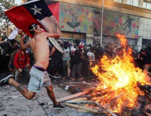 Ley de la República de Chile proyecto  antibarricadas con  penas de cárcel para infractores