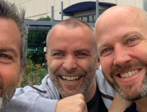 Cristián Sánchez está feliz, su hermano ganó la batalla contra el cáncer