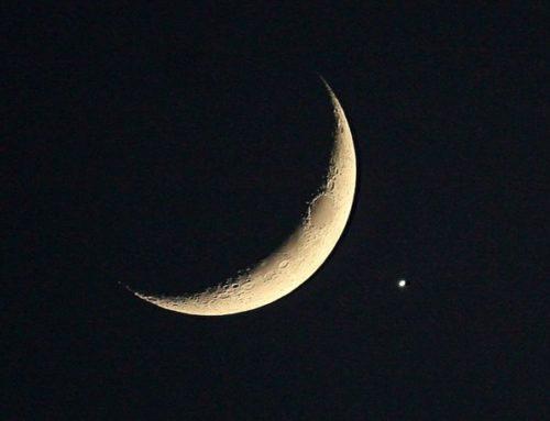 27F: Comienza la  conjunción entre la Luna y Venus , mira al cielo