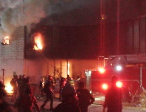 Santiago: Museo Violeta Parra se quema por completo