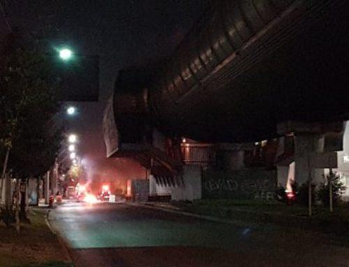 Urgente: Incendio afecta a estación Los Quillayes