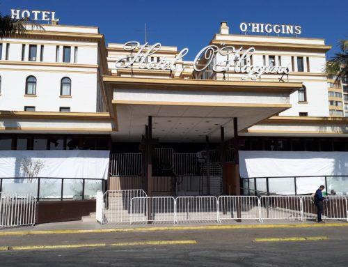 Cierran el Hotel O'Higgins de forma definitiva por no tener garantías en la seguridad para su personal