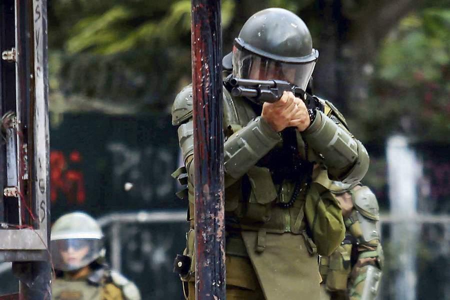 Noticias Chile   Corte Suprema da luz verde para que carabineros puedan usar escopetas en Valparaíso