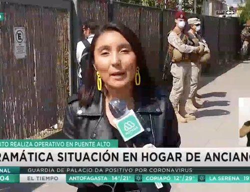 Brote de coronavirus en hogar de ancianos de Puente Alto, se reportan dos fallecidos