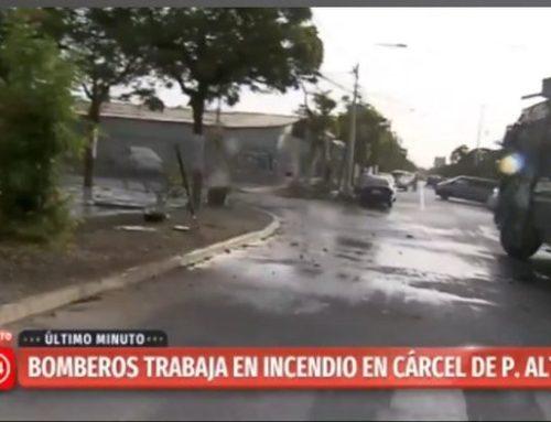 Incendio afecta a la cárcel de Puente Alto, se reporta Motín