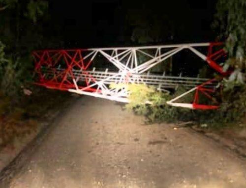 Atentado terrorista: tres antenas derribadas con explosivos en el sur de Chile