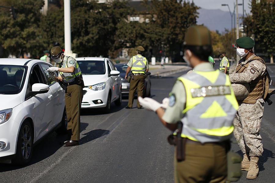 Noticias Chile | Carabineros entregó dos mil permisos a personas contagiadas con COVID-19