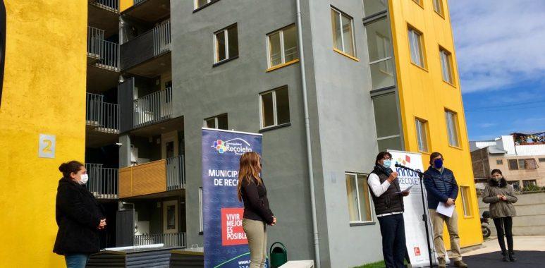 Noticias Chile | Entregan los primeros departamentos populares en Recoleta completamente equipados