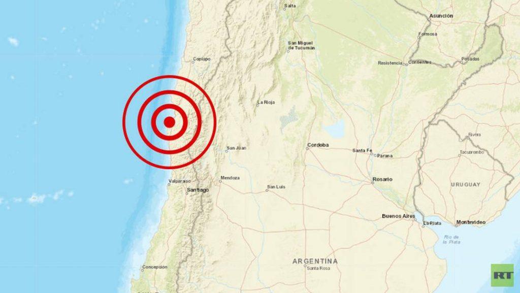 Noticias Chile | Temblor de mediana intensidad se registra en la zona central, magnitud 5.4