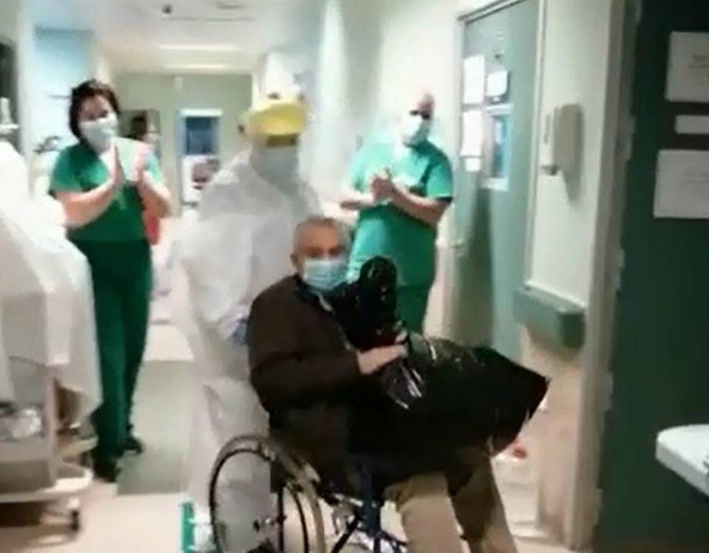 Noticias Chile | Chileno gladiador de 85 años con tumor cerebral le ganó al Covid-19