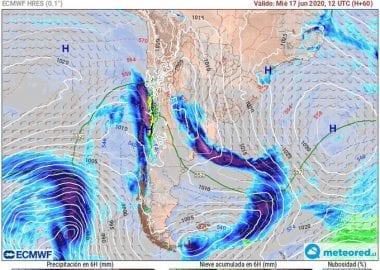 Noticias Chile | Alerta temprana meteorológica por riesgo de aluviones para la IV región de Chile |Informadorchile
