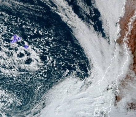 Noticias Chile | Fuerte temporal se dejará sentir desde la IV región al sur de Chile, con fuertes vientos y precipitaciones