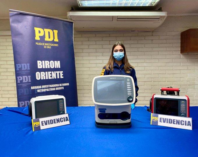 Noticias Chile   Detienen a sujeto que intentó vender en redes sociales 3 ventiladores mecánicos robados