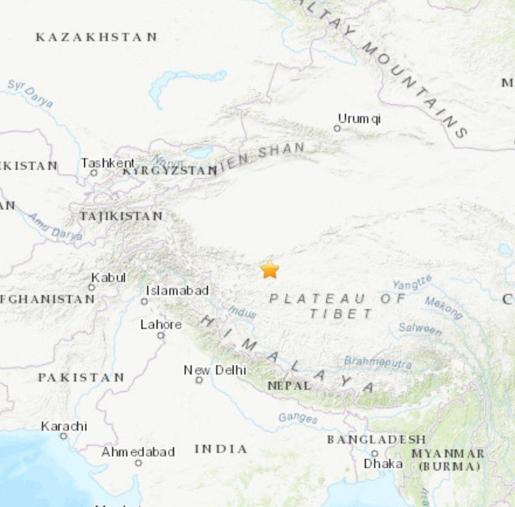 Noticias | Terremoto se registra en China
