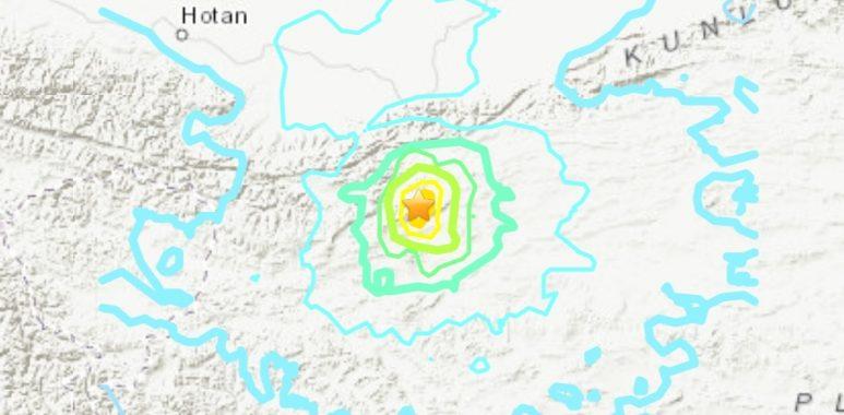 Noticias Chile | Terremoto se registra en China