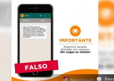 Noticias Chile | Banco Estado asegura que su APP no ha sido hackeada