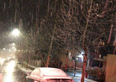 Noticias Chile | Comienza a nevar en sectores de Santiago | Fotografía San José de Maipo