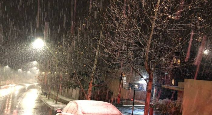 Noticias Chile   Comienza a nevar en sectores de Santiago   Fotografía San José de Maipo