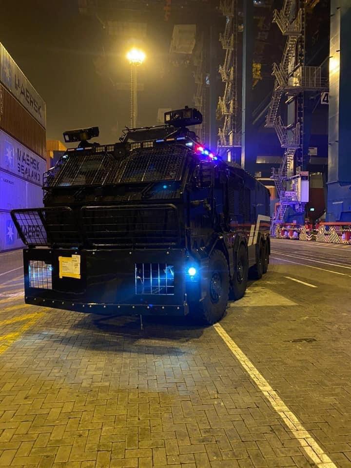 Noticias Chile | Llegan a Chile los nuevos carros antidisturbios de Carabineros de Chile | INFORMADORCHILE