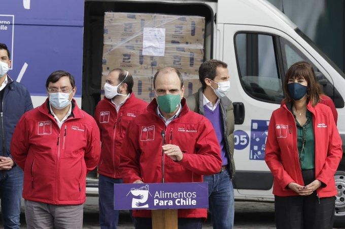 Noticias Chile   Gobierno entrega cajas de alimentos y tres millones de preservativos   INFORMADORCHILE