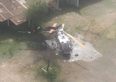Noticias Chile | Helicóptero se estrella en el estacionamiento del Hospital Roberto del Río en Independencia | INFORMADORCHILE