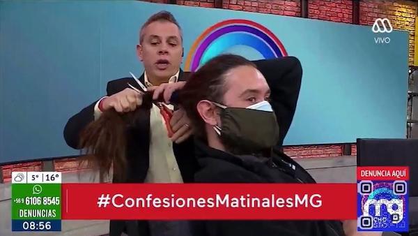 Noticias Chile | Camarógrafo demanda a José Miguel Viñuela por polémico corte de pelo | Informadorchile