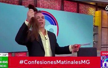 Noticias Chile | Mega pide disculpas públicas , luego de que Viñuela cortara el pelo a camarógrafo en vivo | Informadorchile