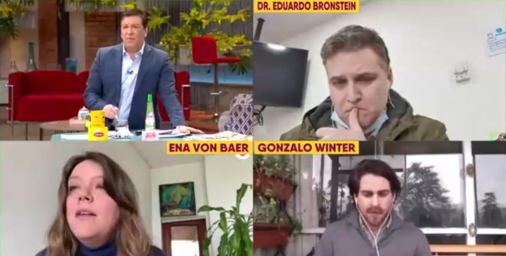 """Noticias Chile   Julio César Rodríguez paro en seco a Ena von Baer por retiro de dinero de las AFP """"Esa plata es de los chilenos"""""""