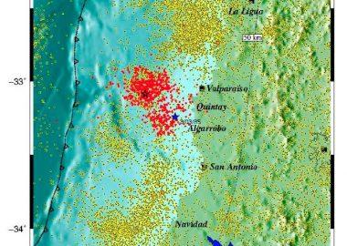 Noticias Chile | La microsismicidad en forma de media luna podría advertir, según estudio, un sismo en la zona central | INFORMADORCHILE