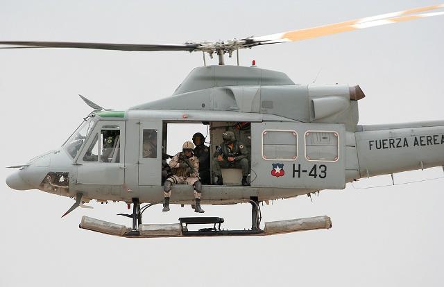 Noticias Chile | Fuerza Aérea buscará potenciar la defensa del espacio aéreo con los F16, helicópteros y armas antiaéreas en los próximos meses