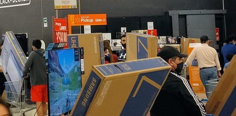 Noticias Chile | Retiro del 10% genera gran aumento del consumo en productos electrónicos en Chile | INFORMADORCHILE