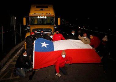 Noticias Chile | Gobierno descarta aplicar la Ley de Seguridad del Estado a camioneros | INFORMADORCHILE