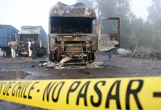 FAKE NEWS | Camioneros descartan un paro por ola de violencia en La Araucanía | INFORMADORCHILE