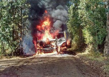 Noticias Chile   Sindicato de camioneros del sur de Chile amenazan al gobierno con un paro, por violencia en La Araucanía   Informadorchile