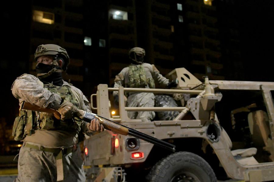 Noticias Chile   Militar resulta herido por impacto balístico en su cabeza