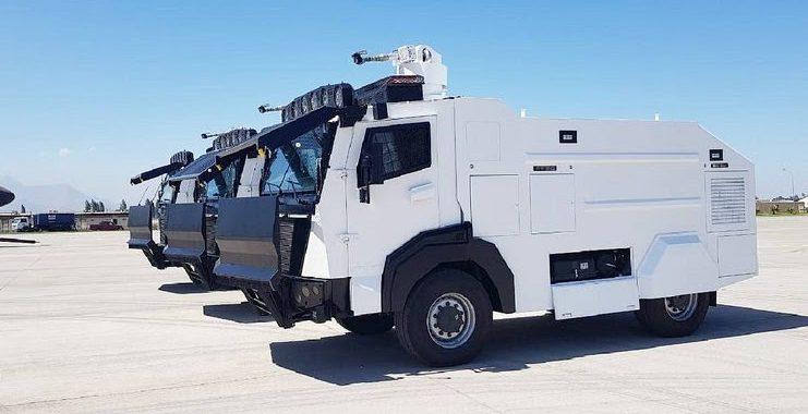 Noticias Chile | Carabineros de Chile presentó su nueva flota de vehículos antidisturbios