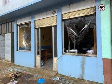 Noticias Chile | Violentos disturbios se registran en Collipulli, hay graves daños materiales