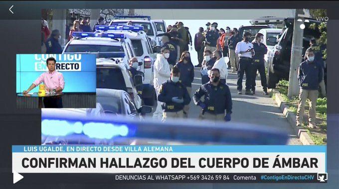 Noticias Chile | Encuentran cadáver de Ámbar, Hugo y su pareja confesaron el crimen