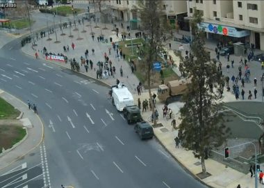 Noticias Chile | Plaza Italia registra la protesta más masiva desde el comienzo de la pandemia | INFORMADORCHILE
