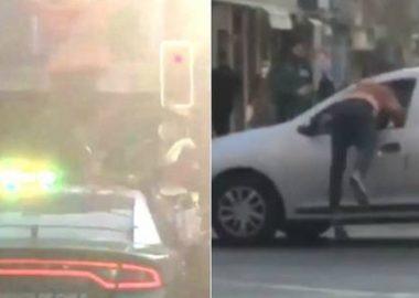 Noticias Chile   Venezolano se sube a patrulla policial, bota a un carabinero y luego se fuga por la ventana de un auto en movimiento   INFORMADORCHILE