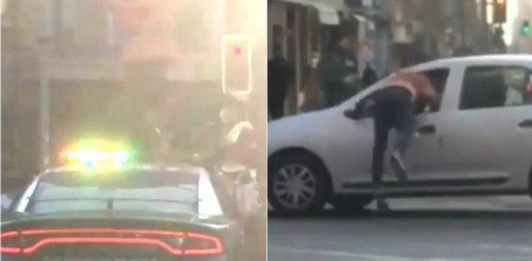 Noticias Chile | Venezolano se sube a patrulla policial, bota a un carabinero y luego se fuga por la ventana de un auto en movimiento | INFORMADORCHILE