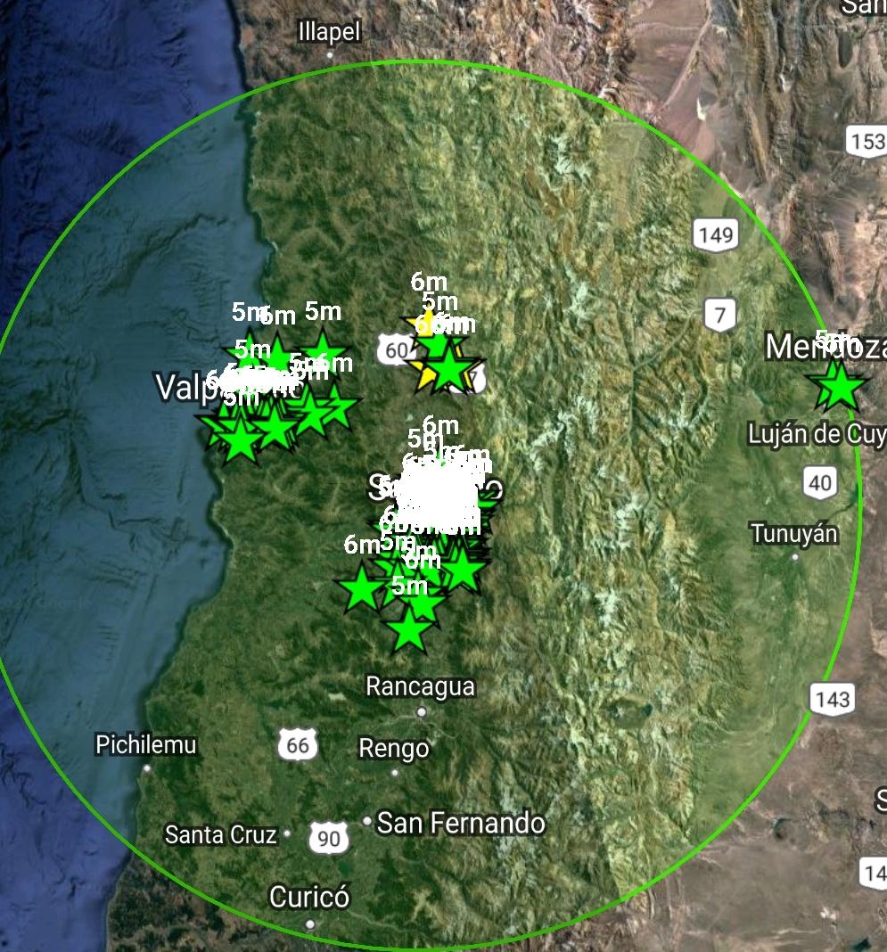 Noticias Chile   Sismo de mediana intensidad se registra en la zona central de Chile