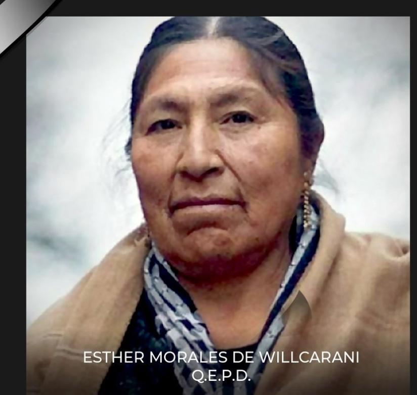 Noticias   Falleció hermana de Evo Morales producto del Covid-19   INFORMADORCHILE