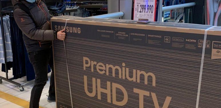 Noticias Chile | Retiro del 10% genera gran aumento del consumo en productos electrónicos en Chile