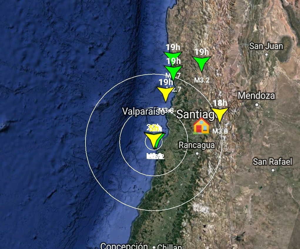 Noticias Chile | Sismólogos desconcertados por la seguidilla de temblores superficiales en Farellones al oeste de la falla de San Ramón | INFORMADORCHILE