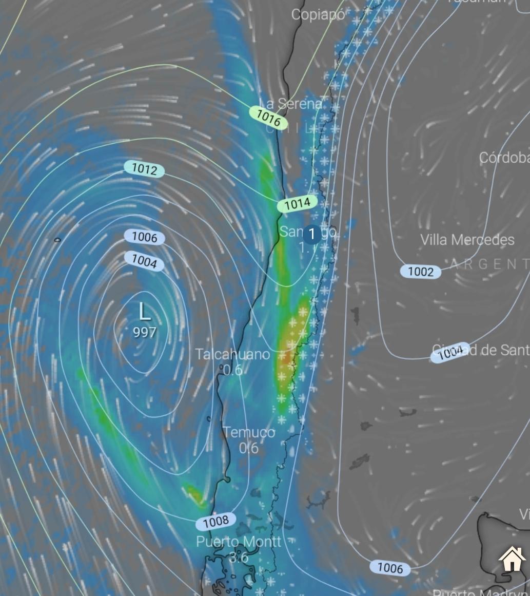 Noticias Chile | Santiago podría recibir precipitaciones para el próximo martes debido a la llegada de un sistema frontal | INFORMADORCHILE